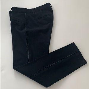Gap skinny ankle black woman pants size 2